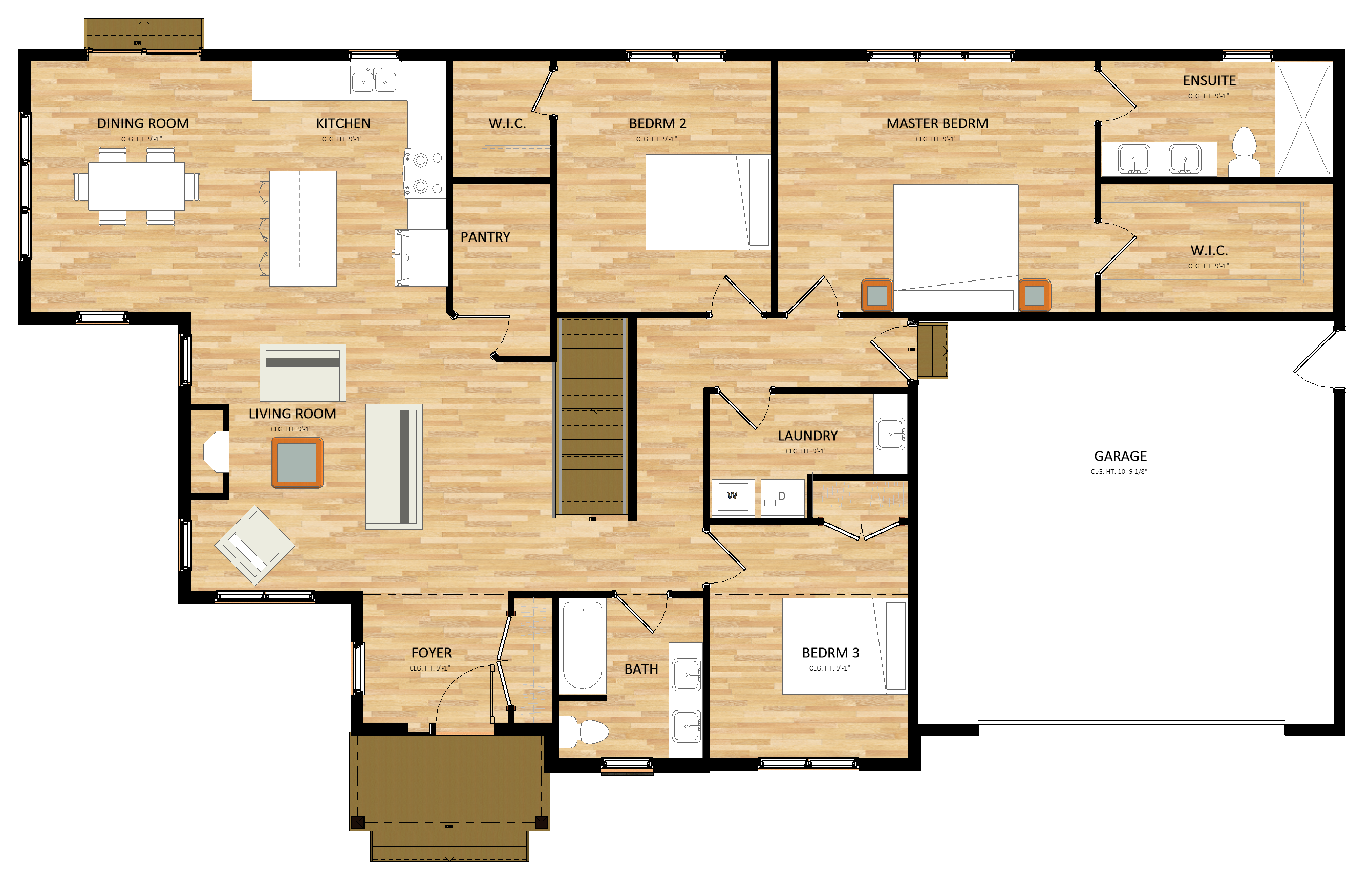 Bayswood Folly Creek - Floor Plan